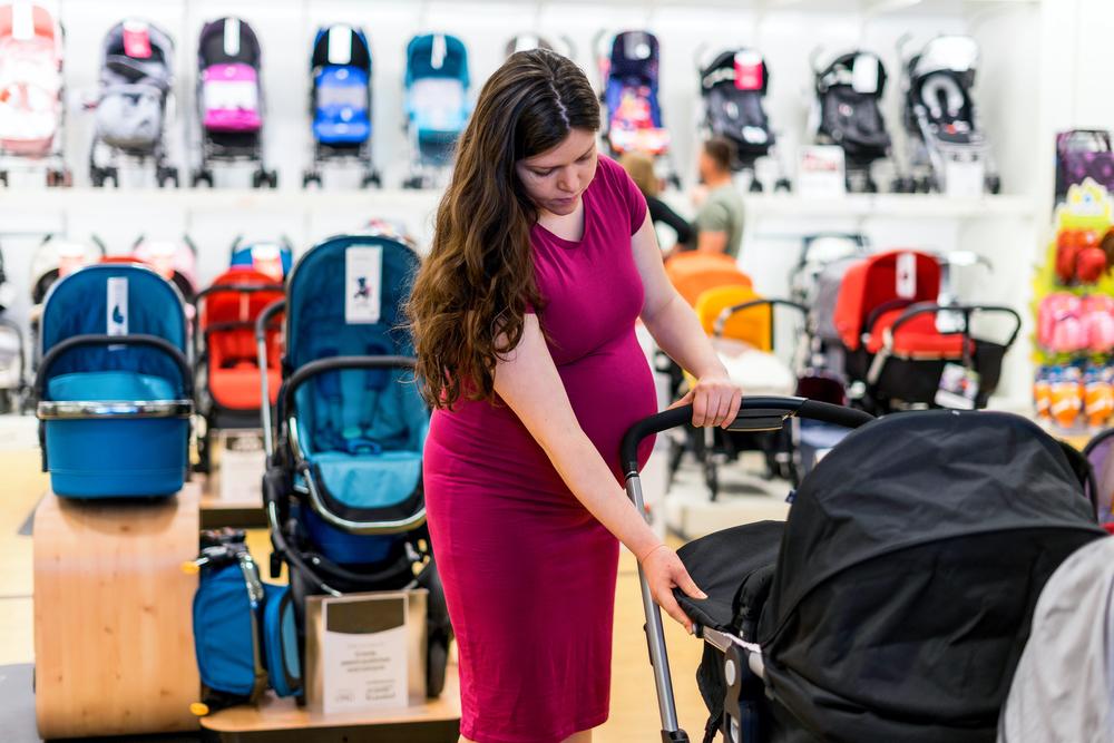 Receba o seu Auxílio Maternidade e realize muitos sonhos! Que tal começar pelo carrinho do bebê?